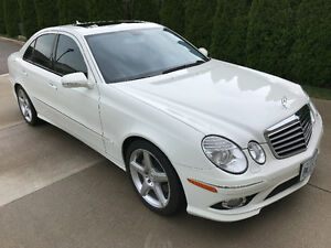 2009 Mercedes-Benz E-Class E350 with AMG Sport Package