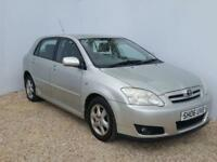 2006 06 TOYOTA COROLLA 1.4 T3 COLOUR COLLECTION VVT-I 5D 92 BHP