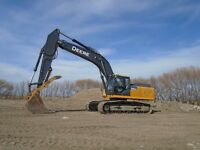 Deere 350 G LC Excavator With Hyd Thumb