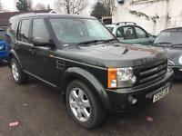 2006 56 Land Rover Discovery 3 2.7 TDV6 HSE AUTO FULLY LOADED