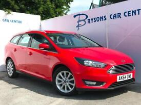 2015 64 Ford Focus 1.6 Ti-VCT ( 125ps ) Powershift Titanium for sale in AYRSHIRE