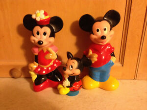 Mickey Mouse shampoo family
