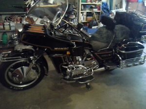 Honda Goldwing GL (previous add had wrong phone number posted)