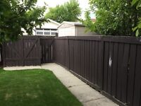 5 and 6 foot fence
