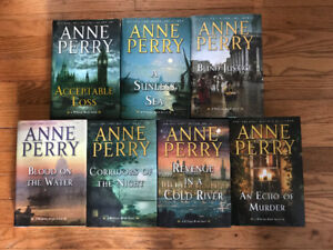 Anne Perry: William Monk Detective Series - 7 H/C Books
