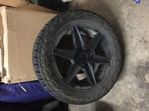 "35"" Open Country C/T 20"" Helo He877 Rims"