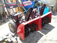 Two 10hp 28 inch cut Snowblowers