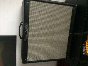 Fender hot rod deville 2x12 made usa. Avec footswitch. 650,00$