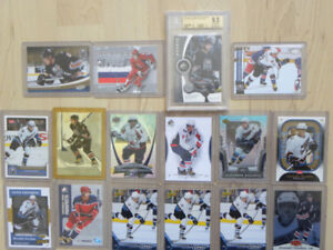 Alexander Ovechkin SP Game Used BGS 9.5 16 card collection