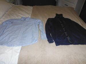 1 chemise et 3 vestes de grande qualité garçon 14 ans