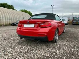 2015(15) BMW 2 SERIES M235i 3.0 PETROL CONVERTIBLE AUTO (S/S) RED