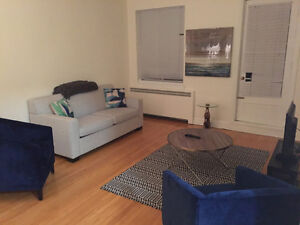 Spacious 1bdr new flat by HEC, UdeM & JGH. WiFi & Parking.