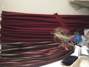 Beautiful rarely used curtains