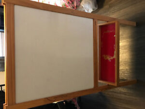 Kids chalk board & drawing board
