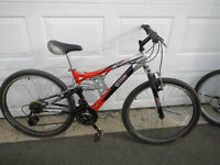 Mongoose Full Suspension Bike Adult.