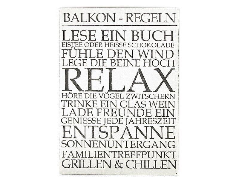 Memotafel Landhausstil Wandtafel zum Hängen Kreidetafel Ablage /& Haken 45x64 cm