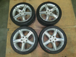 JDM Toyota Altezza Lexus IS300 OEM Wheels Set  17X7 +50 Rims Mag