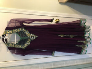New-like Anarkali suit ,worn only once!