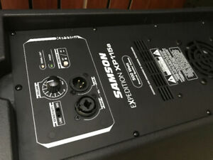 Samson Expedition XP115a 500w powered speaker