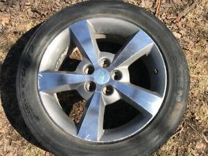 Summer Tires Used On Season! 225/50/R17