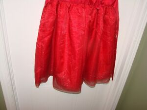 Claire Bell - Red Dress (satin with Sparkle Accents) size 10/12 Kitchener / Waterloo Kitchener Area image 3