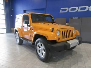 2013 Jeep Wrangler Sahara  4X4 w/ Leather