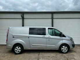 2018 Ford Transit Custom 2.0 TDCi 130ps Low Roof D/Cab Limited Van NO VAT PANEL