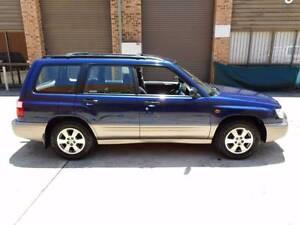 2001 Subaru Forester Wagon Redfern Inner Sydney Preview
