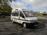 Auto Sleeper Symphony 2 Berth High Top Camper Van For Sale