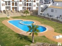 Costa Blanca, 2 bed, South facing, 1st floor apt, Air con, WI-FI, English TV, Communal pool (SM072
