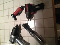 5 AIR TOOLS FOR SALE - WILL SELL SEPARATELY!!