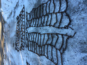 4 11R24.5 tire chains doubles Cambridge Kitchener Area image 1
