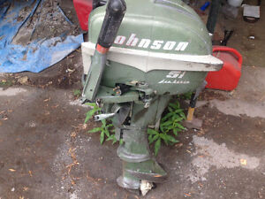 5 1/2 johnson outboard  $200 firm