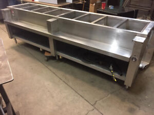 Used Steam Table 8  or 3 wells