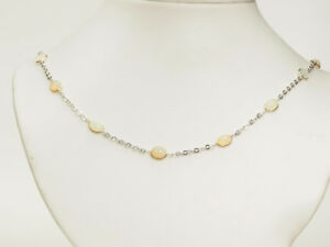 10K YELLOW GOLD OPAL & DIAMOND NECKLACE...GREAT PRICE!!!