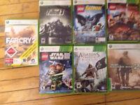 Vends Xbox 360 avec 7 jeux