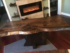 Reclaimed rustic, custom furniture, tables benches. Doors Cambridge Kitchener Area image 4