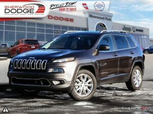 2014 Jeep Cherokee Limited  EXTENDED WARRANTY | HEAT SEATS/ WHEE