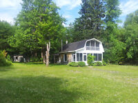 WATERFRONT LOT & COTTAGE