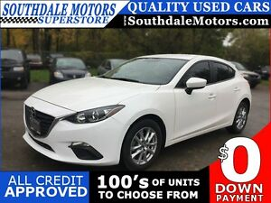 2015 MAZDA 3 I TOURING * REAR CAM * BLUETOOTH * LIKE NEW * POWER