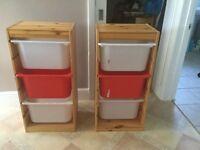 Children's storage boxes