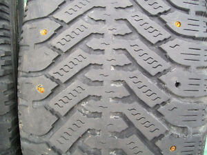 225/60/R16 STUDDED SNOW TIRES FOR SALE