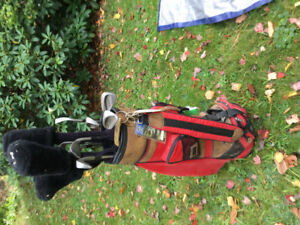 Lh Wilson golf clubs plus bag good For tall lefty