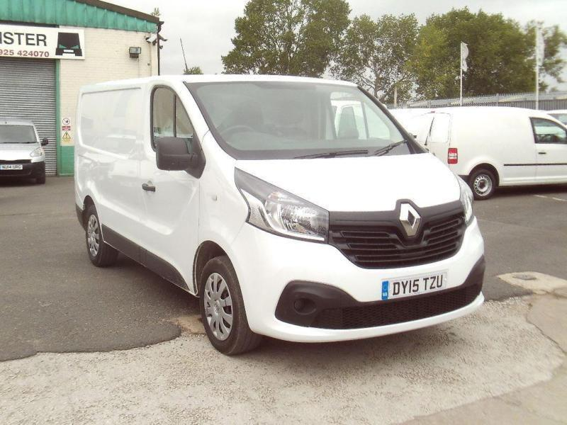 Renault Trafic SL27 swb Business+ 115ps DIESEL MANUAL WHITE (2015)