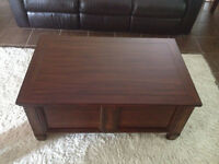 Leon's Storage Coffee Table and End Tables