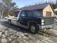 MINT TOY HAULER / FLATBED TILT LOAD CHEVY SQUARE BODY RESTORED