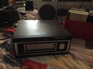 Realistic Tr-169 8track player and rock/pop tapes. 150$ obo.