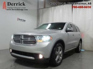 2013 Dodge Durango 4X4 Citadel Nav Sunroof Tech Grp $227 B/W
