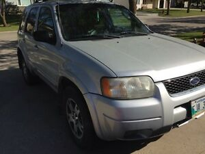 2003 Ford Escspe limited