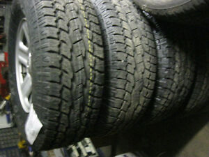 Jeep Wrangler Snow Tires